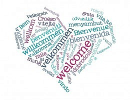 Welcome word cloud.