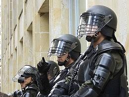 Militarized policemen.
