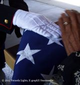 The flag that drapes a soldier's coffin is a symbol of love, dedication, & enormous sacrifice.